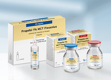 Propofol 1 and 2 MCT Fresenius