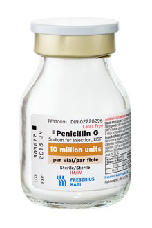 Penicillin G Sodium for Injection, USP