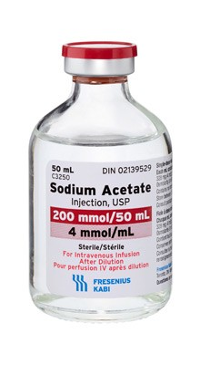 Sodium Acetate Injection, USP