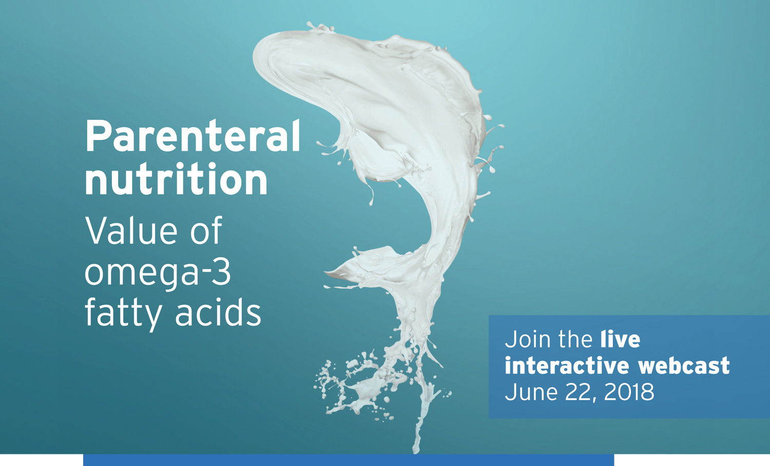 Parenteral nutrition Value of omega-3 fatty acids