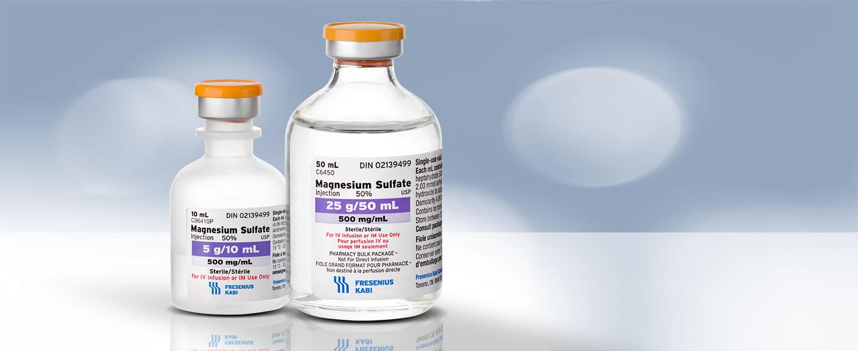 Sulfate de magnésium injectable - Fresenius Kabi Canada