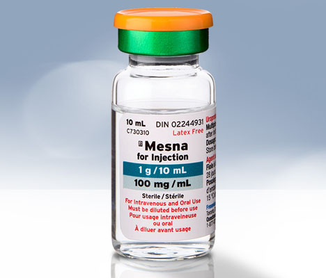Mesna pour injection