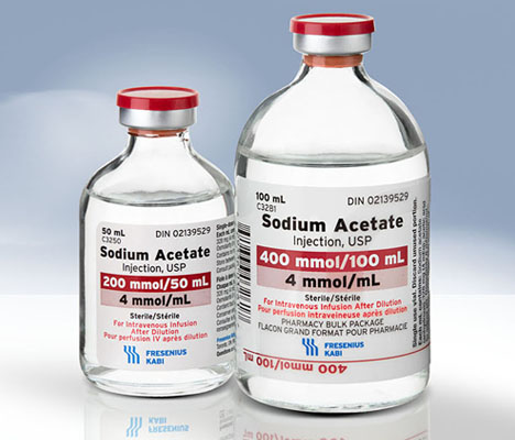 Sodium (acétate) injectable USP