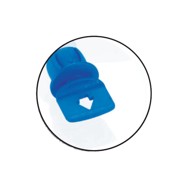 Freeflex Tamper Blue Cap