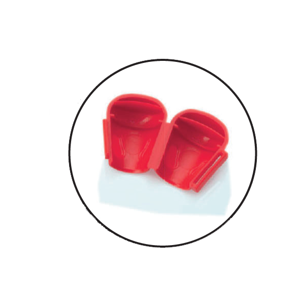 Freeflex® Tamper Red Caps