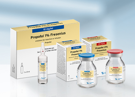 Propofol 1 and 2 Fresenius