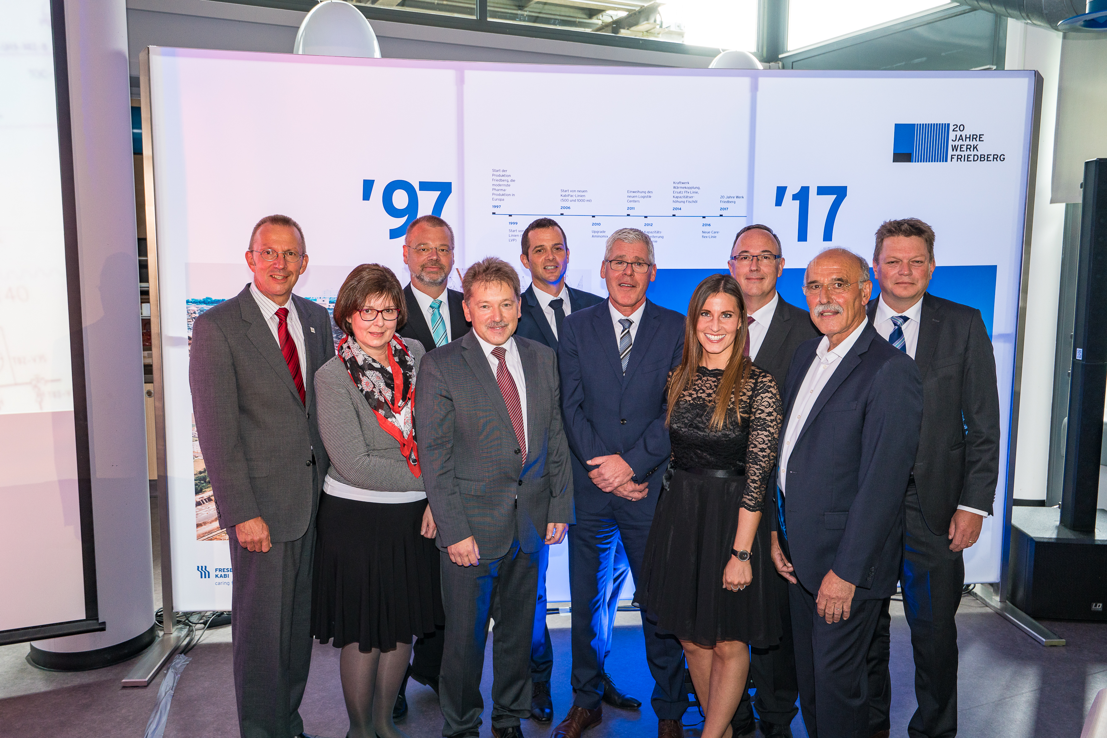 Fresenius Kabi celebrated the 20-year anniversary of its Friedberg plant in the state of Hesse.