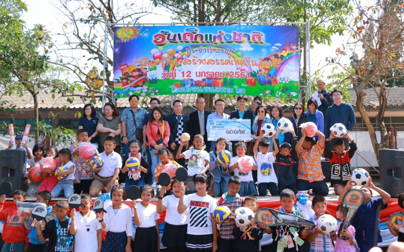 Fresenius Kabi makes donation to a school in Thailand