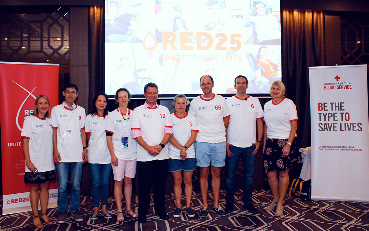 Fresenius Australia Red 25 team members