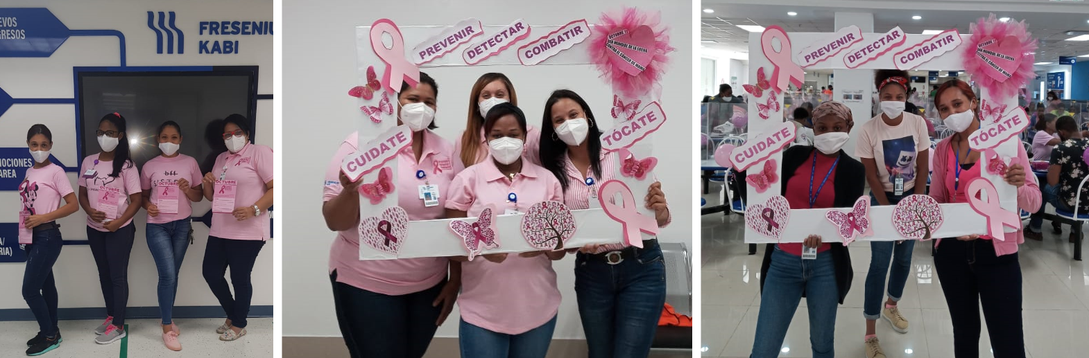 Fresenius Kabi Haina, Dominican Republic - Breast Cancer Awareness Month - Campaign