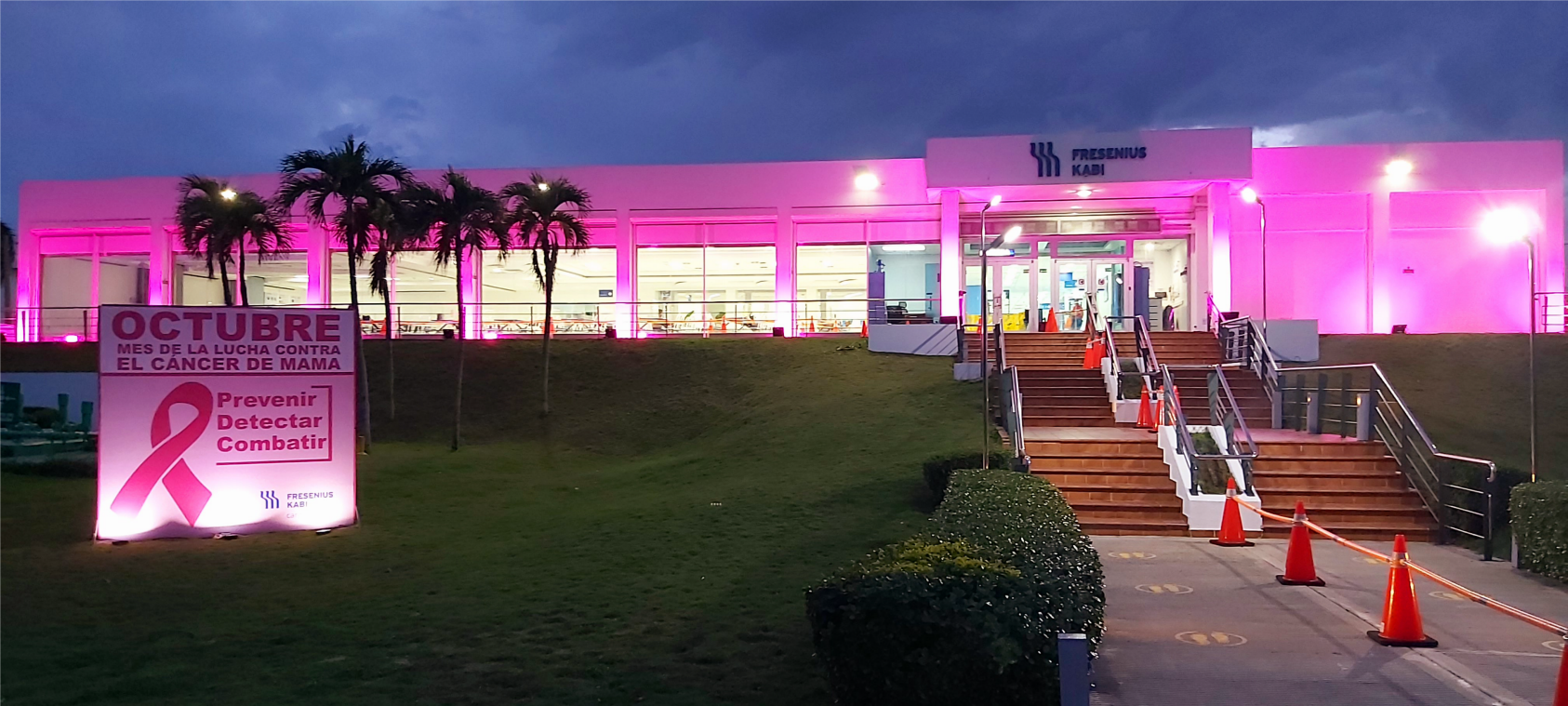 Fresenius Kabi Haina, Dominican Republic - Breast Cancer Awareness Month