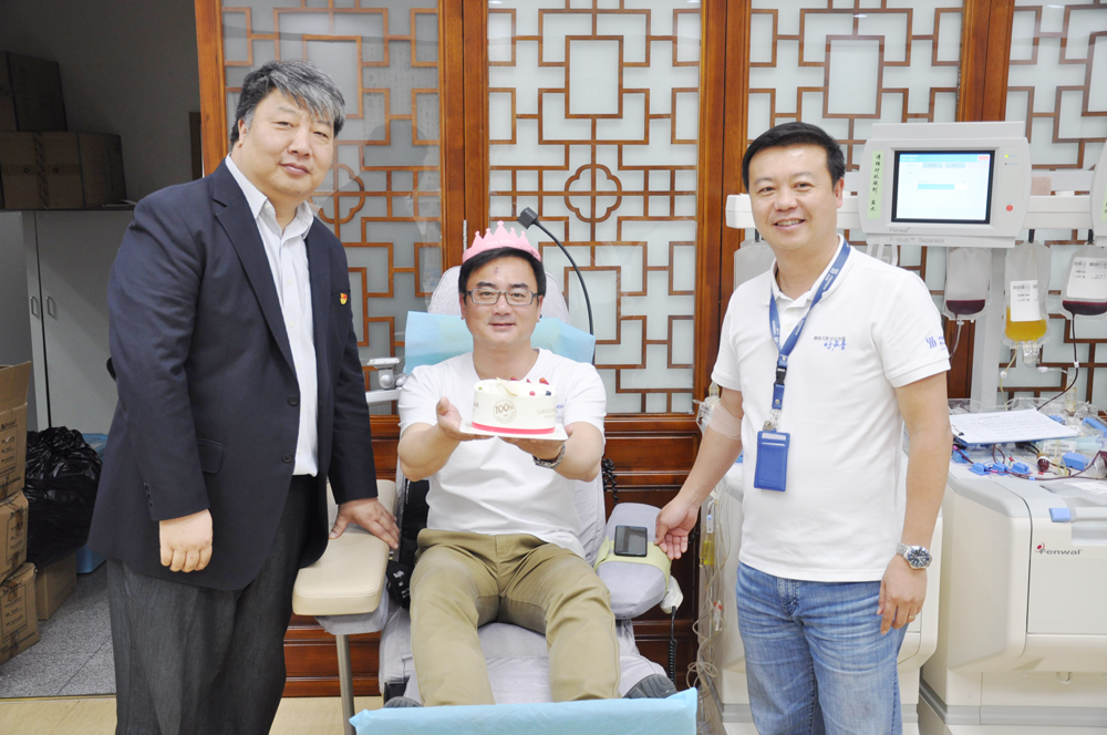 Fresenius Kabi China Blood Donation Day - Colleague Duan Minghui