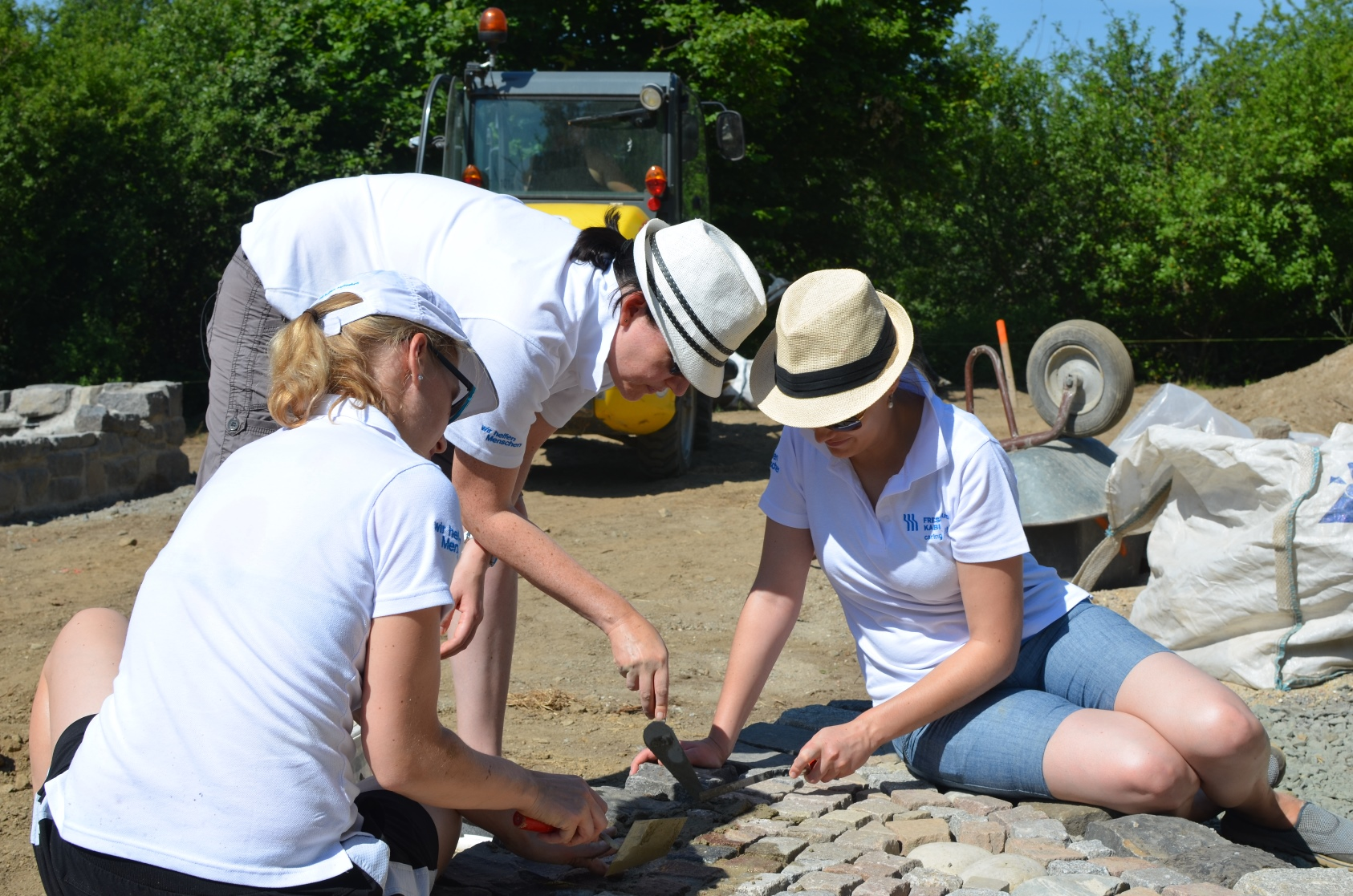 Fresenius Kabi Germany employees donate their time during the Active Helping Days