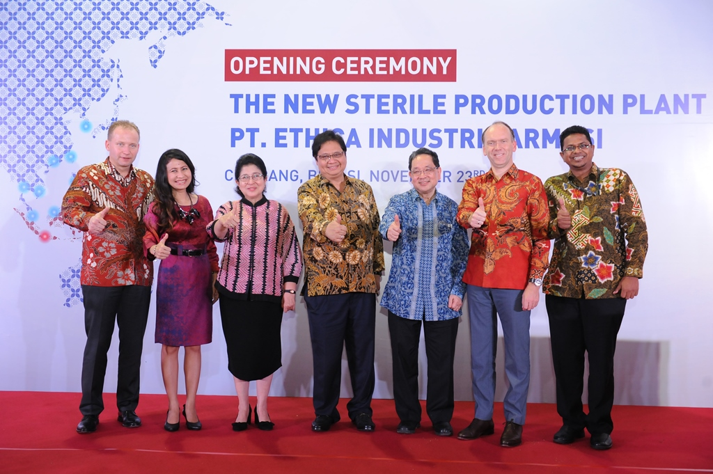 Fresenius Kabi opens production facility in Indonesia