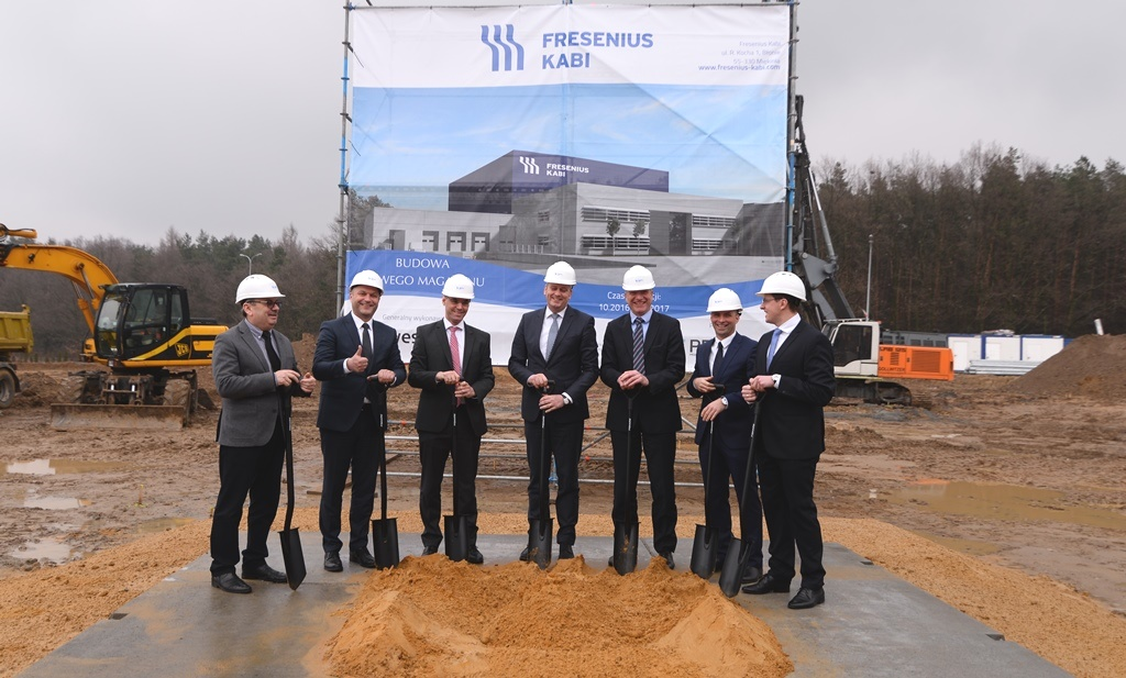 Fresenius Kabi builds new warehouse at Blonie production site