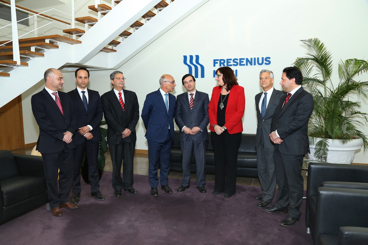 Fresenius Kabi welcomes Portuguese Minister of Health