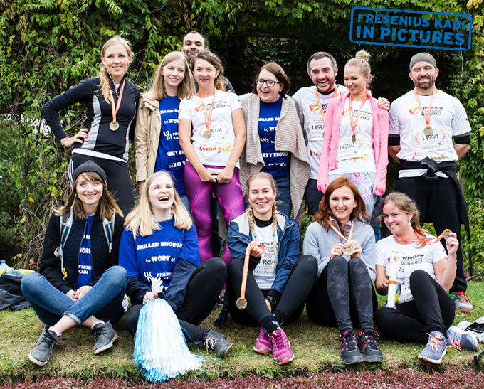Running for patients: Fresenius Kabi Poland goes the extra mile