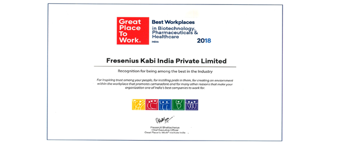 Winners of Best Place to Work in Biotechnology, Pharmaceuticals & Healthcare