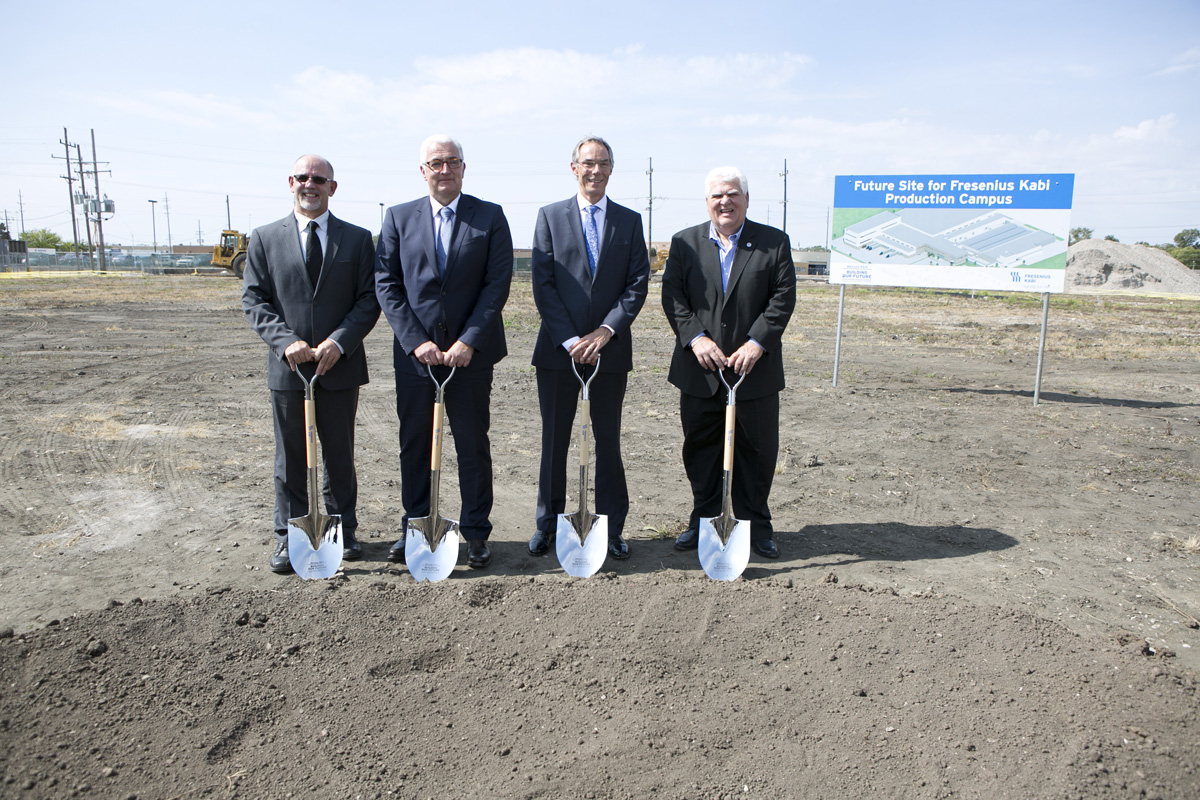 Melrose Park Groundbreaking Image 1