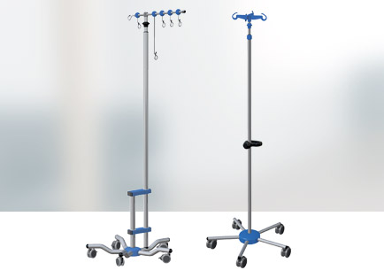 Telescopic Rolling Stand